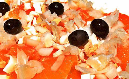 remojón andaluz ensalada de bacalao con naranjas