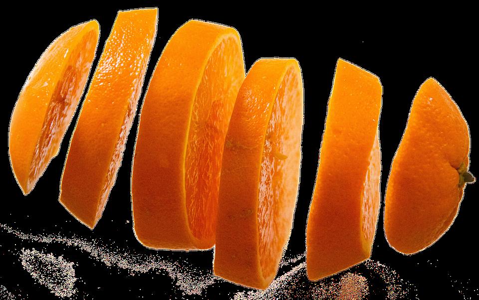 la naranja en la pirámide nutricional