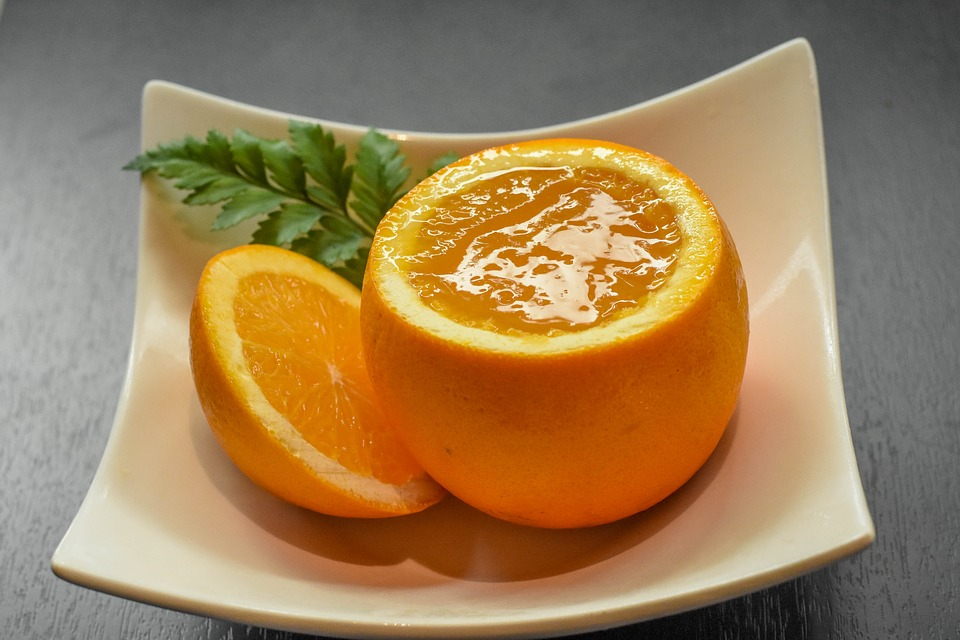 postres fáciles con naranja_gelatina de naranja